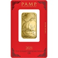PAMP 1oz 2021 Year of the Ox Gold Bar