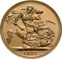 1982 Gold Sovereign - Elizabeth II Decimal Portrait