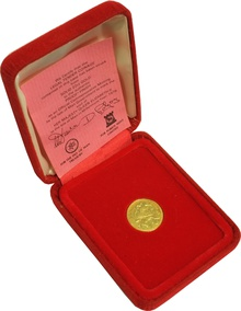 Gold Proof 1979 Isle Of Man Half Sovereign Boxed