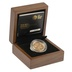 Gold Proof 2013 £1 One Pound England Floral Boxed