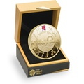 2012 - Gold £5 Proof Crown, Official London Olympics Boxed