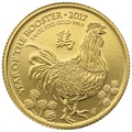 2017 Royal Mint 1/4 Oz Year of the Rooster Gold Coin