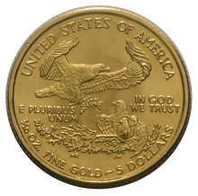 2003 Tenth Ounce Eagle Gold Coin