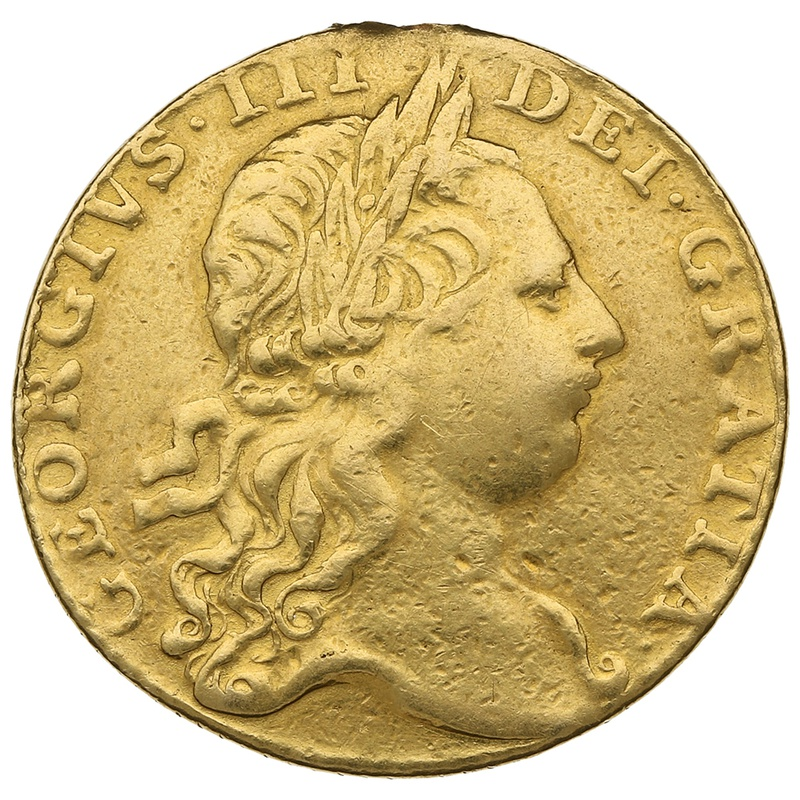 1766 George III Guinea Gold Coin