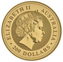 2000 2oz Year of the Dragon Lunar Gold Coin
