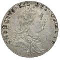 1787 George III Silver  Sixpence