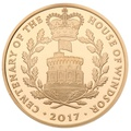 2017 - Gold £5 Proof Crown - House of Windsor Centenary
