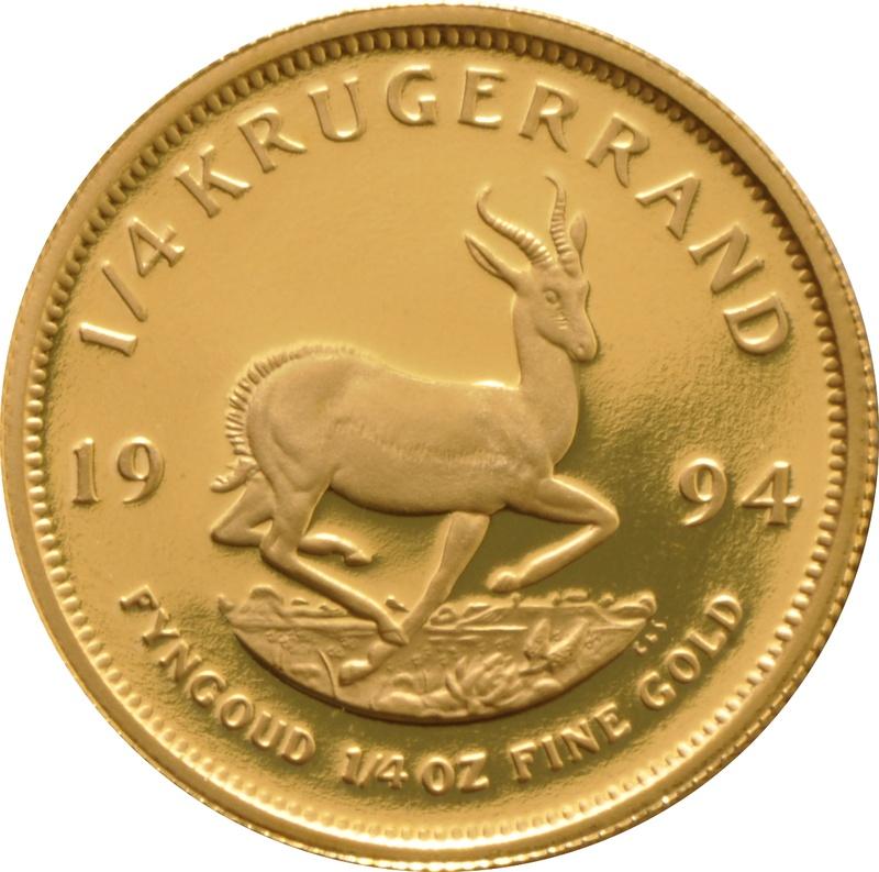 1994 Proof Quarter Ounce Gold Krugerrand
