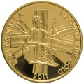 2011 Half Ounce Proof Britannia Gold Coin