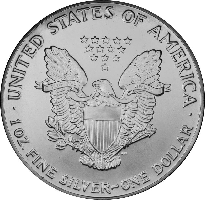 1991 1oz American Eagle Silver Coin