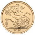 2020 Gold Half Sovereign