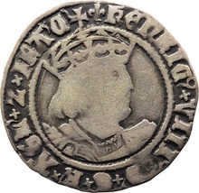 Henry VIII Fourpence - Fine
