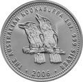 2006 1oz Silver Kookaburra