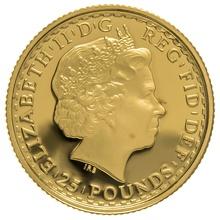 2010 Quarter Ounce Proof Britannia Gold Coin