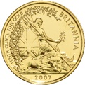 2007 Tenth Ounce Gold Britannia