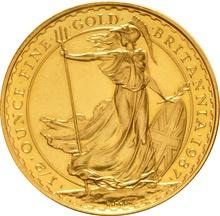 1987 Half Ounce Britannia Gold Coin