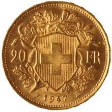 20 Swiss Franc