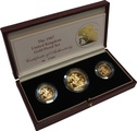 1987 Gold Proof Sovereign Three Coin Set Boxed