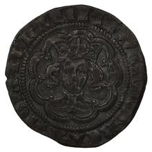 1351-61 Edward III hammered Silver Halfgroat - Pre-Treaty