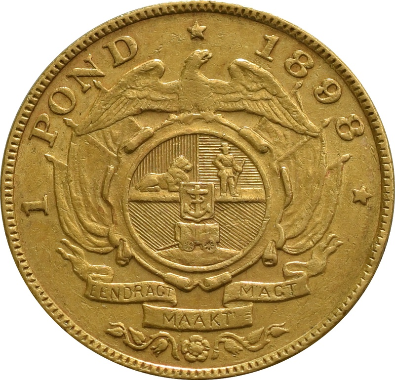 1898 1 Pond South Africa
