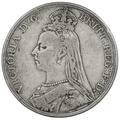 1892 Queen Victoria Silver Crown