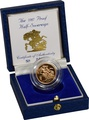 Gold Proof 1987 Half Sovereign Boxed