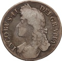 1687 James II Silver Crown