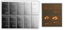 10 x 10g Silver CombiBar
