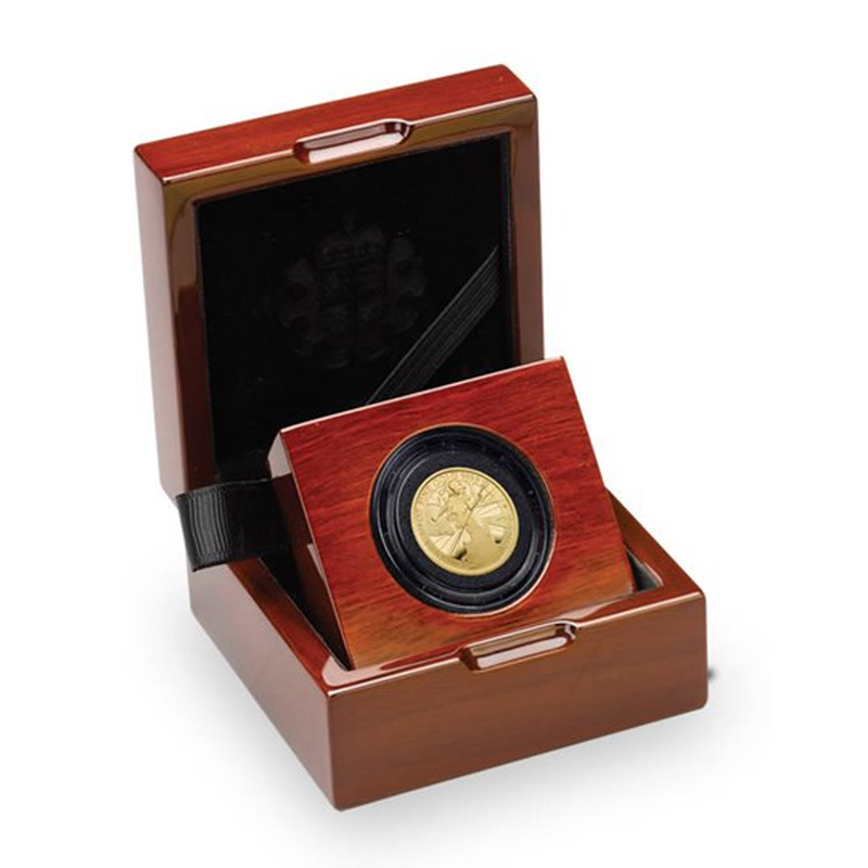 2017 Proof Quarter Britannia Gold Coin Boxed