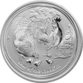 2oz Australian Lunar Year of the Rooster Silver Coin