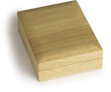 Oak Gift Box for Sovereign or Quarter Ounce Coins