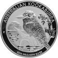 2019 1KG Silver Kookaburra