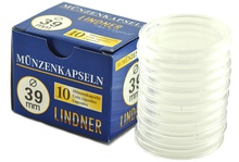 Lindner 39mm 1oz Silver Coin Capsules (10 Box)