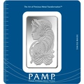 PAMP 100 Gram Silver Bar Minted