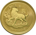 1oz Perth Mint Year of the Dog 2018 Gold Coin