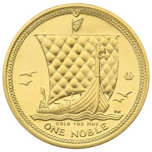 2009 1oz Gold, Isle of Man Noble