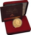 2000 - Gold £5 Proof Crown, Queen Mother Boxed