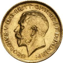 1911 Gold Half Sovereign - King George V - S