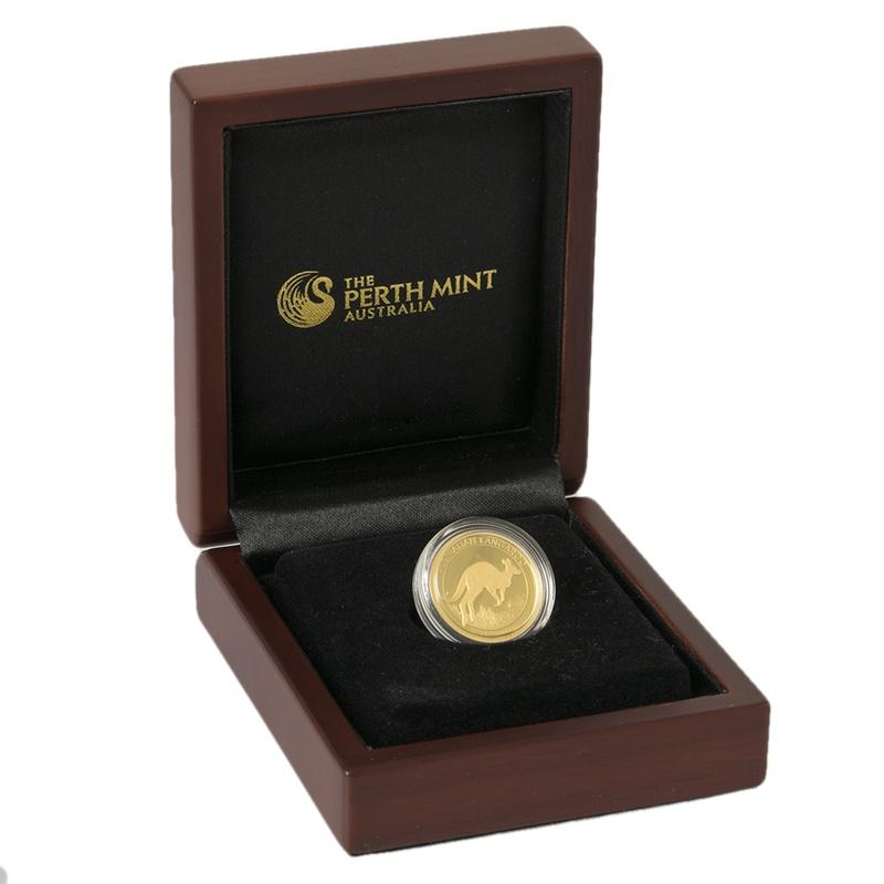 Australian Kangaroo 2017 1/4oz Gold Proof coin Boxed