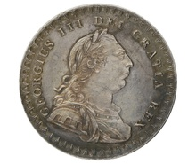 1811 Silver Shilling and Six Pence Token