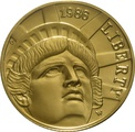 1986 Statue of Liberty - American Gold Commemorative $5