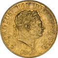 1817 George III Gold Half Sovereign Graded NGC AU55