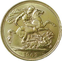 1902 Double Sovereign Edward VII