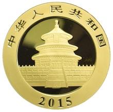 2015 1oz Gold Chinese Panda Coin