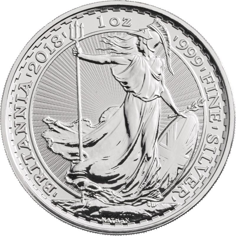 2018 1oz Britannia Silver Coin