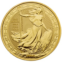 2019 1oz Gold Britannia (Oriental Border) Coin