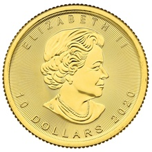 2020 Quarter Ounce Gold Maple