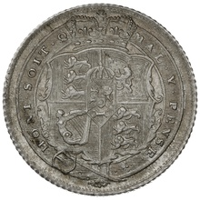 1817 George III Silver Sixpence