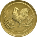1oz Perth Mint Year of the Rooster 2017 Gold Coin