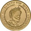 2002 - Gold £5 Proof Crown, Queen Mother Memorial